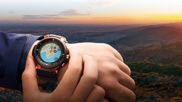 Casio представила новые «умные» часы Pro Trek Smart WSD-F30