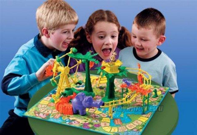 Настольные игры в детском досуге